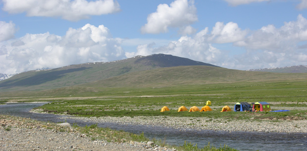 Uno dei torrenti (Deosai district, 3872-4105 m s.l.m.)
